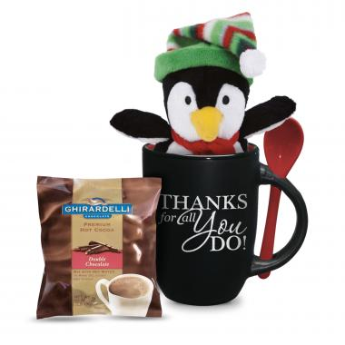 Thanks For All  You Do Penguin Gift Set