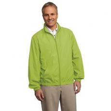 Outerwear - Essential;Port Authority<sup>®</sup> - 3XL -  Lightweight jacket with simple, classic styling. Blank