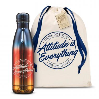 Attitude is Everything Circle 17oz Flame Swig