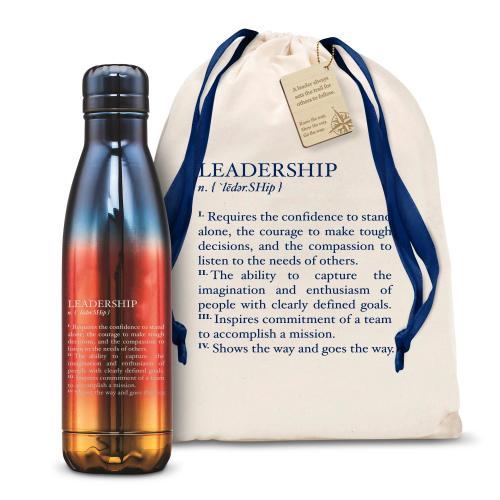 Leadership Definition 17oz Flame Swig
