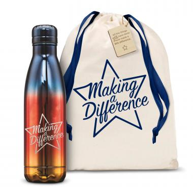 Making a Difference Star 17oz Flame Swig