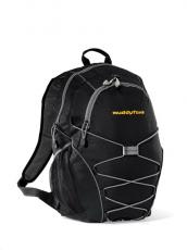 Backpacks - Expedition - Black -  Computer backpack with bungee cords for extra storage