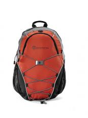 Backpacks - Expedition - Burnt Orange -  Computer backpack with bungee cords for extra storage