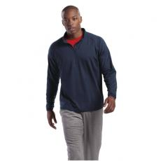 Outerwear - Sport-Tek<sup>®</sup>;Sport-Wick<sup>®</sup> - 2XLT -  Stretch 1/2 zip pullover, poly/spandex, cadet collar, raglan sleeves, tall sizes