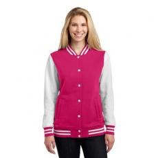 Outerwear - Sport-Tek<sup>®</sup> - 2XL -  Sport-Tek ladies letterman jacket