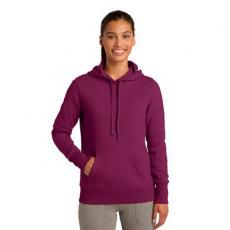 Outerwear - Sport-Tek<sup>®</sup> - 4XL -  Ladies' pullover hooded sweatshirt; 9-ounce, 65/35 ring spun combed cotton/poly