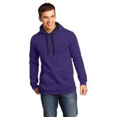 Sweat Shirts Mens - Concert Fleece<sup>™</sup>;District<sup>®</sup> - 4XL -  Young men's fleece hoodie; 7.8 ounce, 50/50 cotton/poly
