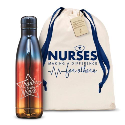 Thanks Nurse Star 17oz Flame Swig