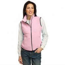Vests General - Port Authority<sup>®</sup>;R-Tek<sup>®</sup> - 4XL -  Ladies' fleece vest with anti-pill finish. Blank