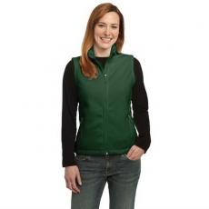 Vests General - Port Authority<sup>®</sup> - 2XL -  Ladies' fleece vest. Blank