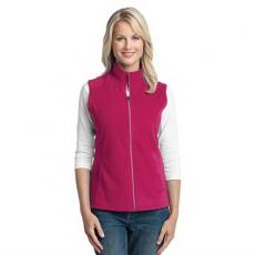 Vests General - Port Authority<sup>®</sup> - L;M;S;XL;XS -  Microfleece ladies vest, super lightweight, with an anti-pill finish. Blank