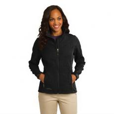 Outerwear - Eddie Bauer<sup>®</sup> - L;M;S;XL;XS -  Ladies' shaded crosshatch soft shell jacket. Blank