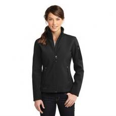 Outerwear - Eddie Bauer<sup>®</sup> - 3XL -  Ladies' ripstop soft shell jacket. Blank