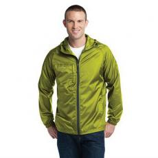 Outerwear - Eddie Bauer<sup>®</sup> - L;M;S;XL;XS -  Packable wind jacket, hood with drawcord and toggles. Blank