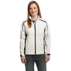 Outerwear - Embark;Port Authority<sup>®</sup> - L;M;S;XL;XS -  Ladies soft shell design merges with modern two-tone graphics in this jacket. Blank