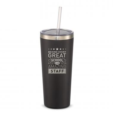 The Joe Straw - Behind Every Great School 20oz. Stainless Steel Tumbler