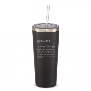 The Joe Straw - Excellence Definition 20oz. Stainless Steel Tumbler