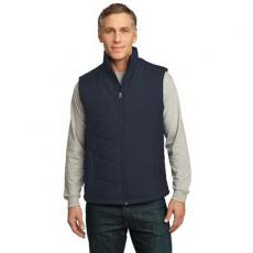 Vests General - Port Authority<sup>®</sup> - L;M;S;XL;XS -  Puffy vest made of 100% polyester with colorful lining. Blank