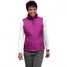 Vests General - Port Authority<sup>®</sup> - L;M;S;XL;XS -  Ladies' puffy vest made of 100% polyester great for layering. Blank