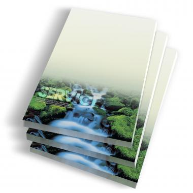 Service Waterfall Notepads