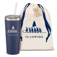 Drinkware - The Joe Straw - Teamwork Gift 20oz. Stainless Steel Tumbler