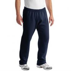 Performance Apparel - Gildan<sup>®</sup>;Ultra Blend<sup>®</sup> - Black;Charcoal;Navy - 2XL -  Open hem sweat pants, drawcord waistband, jersey-lined