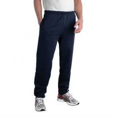 Clothing Sweat Pants - Jerzees<sup>®</sup>;Super Sweats<sup>®</sup> - Black;Navy - L;M;S;XL -  Polyester/cotton fleece sweat pant with side entry pockets. Blank