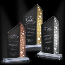 All Trophy Awards - Star-Field Acrylic Champagne Award