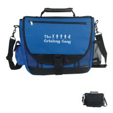 Messenger Bags - Embroidery - Embroidery -  Messenger bag made of 600 denier polyester with high tech rubber handle