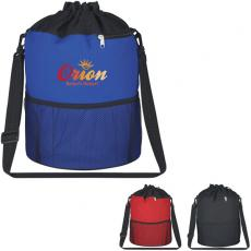 Bags & Totes - Transfer - Embroidery -  Vented beach bag made of 600 denier with PVC bottom