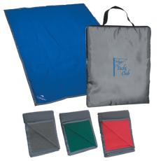 Home & Family - Silkscreen - Embroidery -  Reversible fleece / nylon blanket with carry case