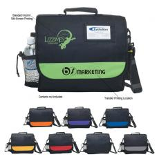 Messenger Bags - Embroidery - Silkscreen -  Business messenger bag with adjustable and detachable shoulder strap