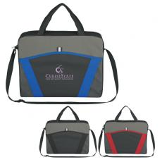Messenger Bags - Casual Friday - Embroidery - Embroidery -  Messenger brief with large front pocket and adjustable shoulder strap