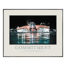 Commitment Swimming Poster