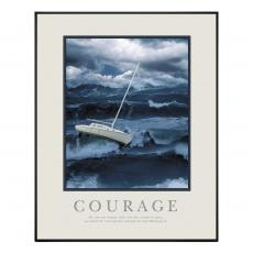 Courage Sailboat Motivational Poster  (710025)