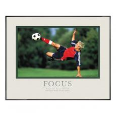 Focus Soccer Motivational Poster  (710038)