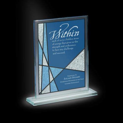 Mosaic Tower Glass Award