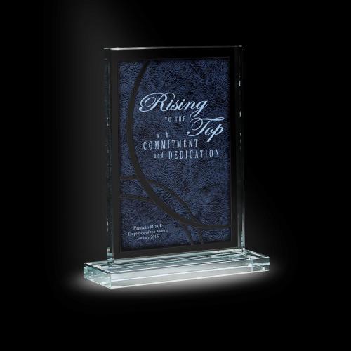 Vachetta Tower Glass Award