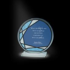 Glass Trophies - Mosaic Victoria Glass Award