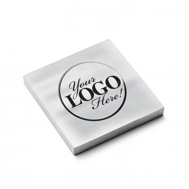 Custom Metal Logo Paperweight