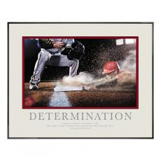 Determination Baseball Slide Motivational Poster <span>(710026)</span> Classic (710026)