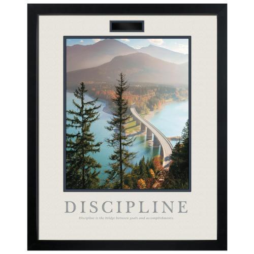 Discipline Bridge Motivational Poster