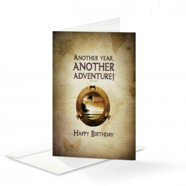 Happy Birthday Another Year 25-Pack Note Cards