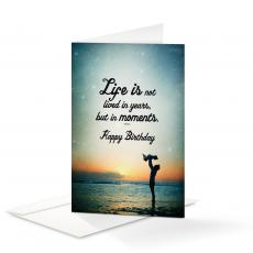 Business Occasion Cards - Happy Birthday Moments 25-Pack Note Cards
