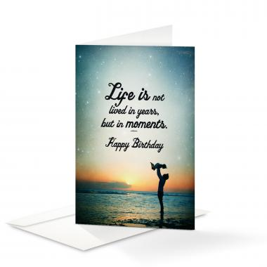 Happy Birthday Moments 25-Pack Note Cards