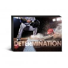 Determination Baseball Desktop Canvas  (CG703628) - $19.99