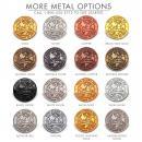 Silver Custom Lapel Pin