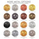 Copper Custom Lapel Pin