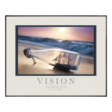 Vision Ship Motivational Poster