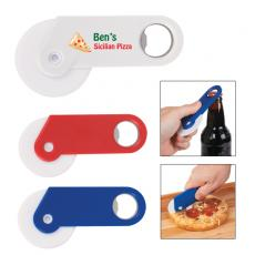 Eco Friendly Products - Pizza cutter with bottle opener